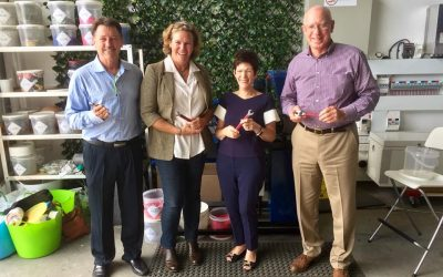 NSW Governor meets Plastic Collective Crew