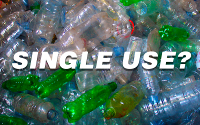 What's the problem with single use plastic?