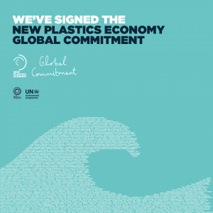 Signatory to the New Plastic Economy Global Commitment - Plastic Collective