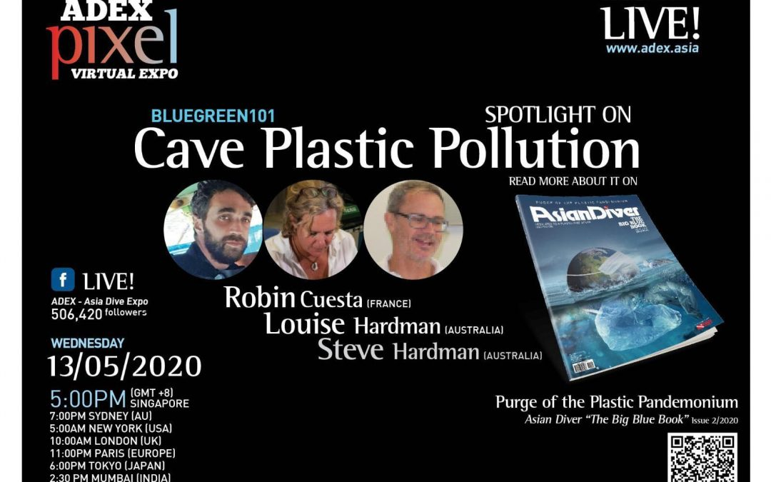 Cave Plastic Pollution – ADEX Pixel Virtual Expo