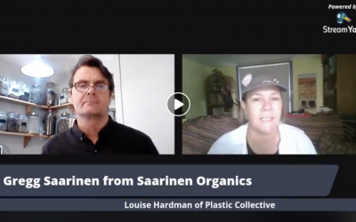 Saarinen Organics chats to Louise about ocean waste plastic
