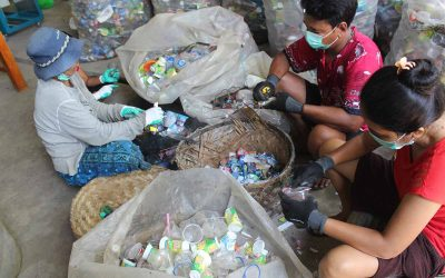 Plastic Waste Initiatives with Plastic Collective's Les Village Program in Bali, Indonesia